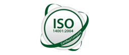 ISO 14001-2004 Certified Company logo