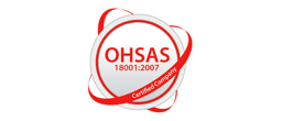 OHSAS 18001-2007 Certified Company logo